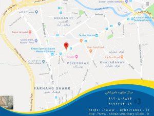 دامپزشکی میدان احسان شیراز